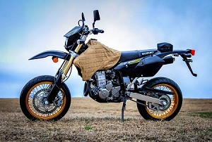 DRZ400 COYOTE BROWN TANK VEST