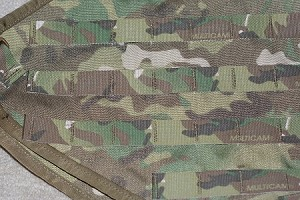 Multicam Tank Vest for KLR650 2008 and Newer