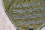 OD Green Tank Vest for KLR650 2007 and Older